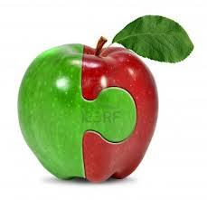 Sano como un manzano